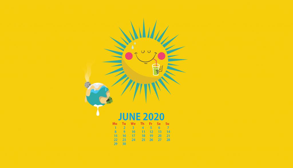 Desktop June 2020 Wallpaper
