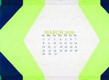 Desktop March 2020 Wallpaper