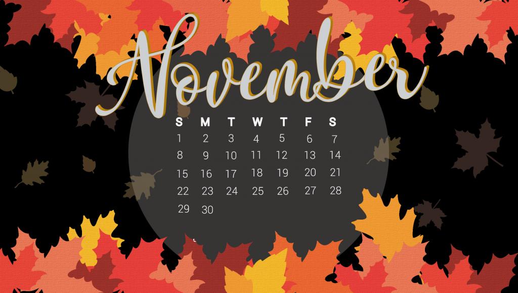 Desktop November 2020 Wallpaper