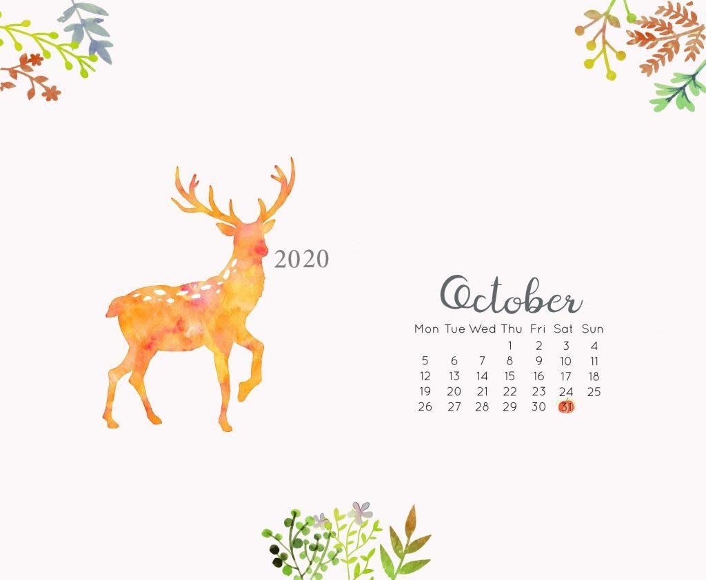 Desktop October 2020 Wallpaper