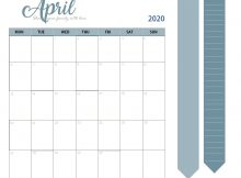 April 2020 Professional Task Organizer