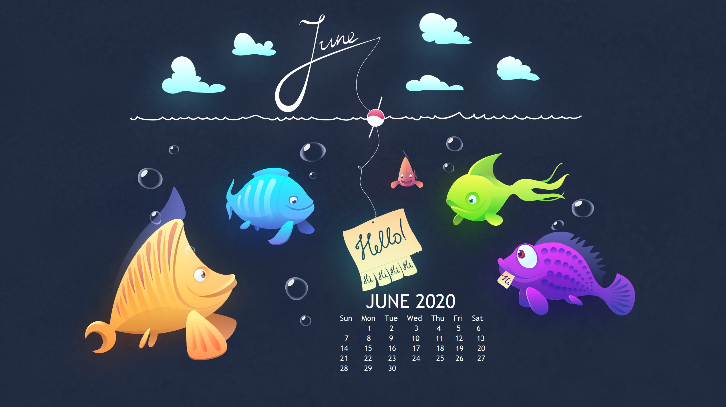 Cute June 2020 Wallpaper