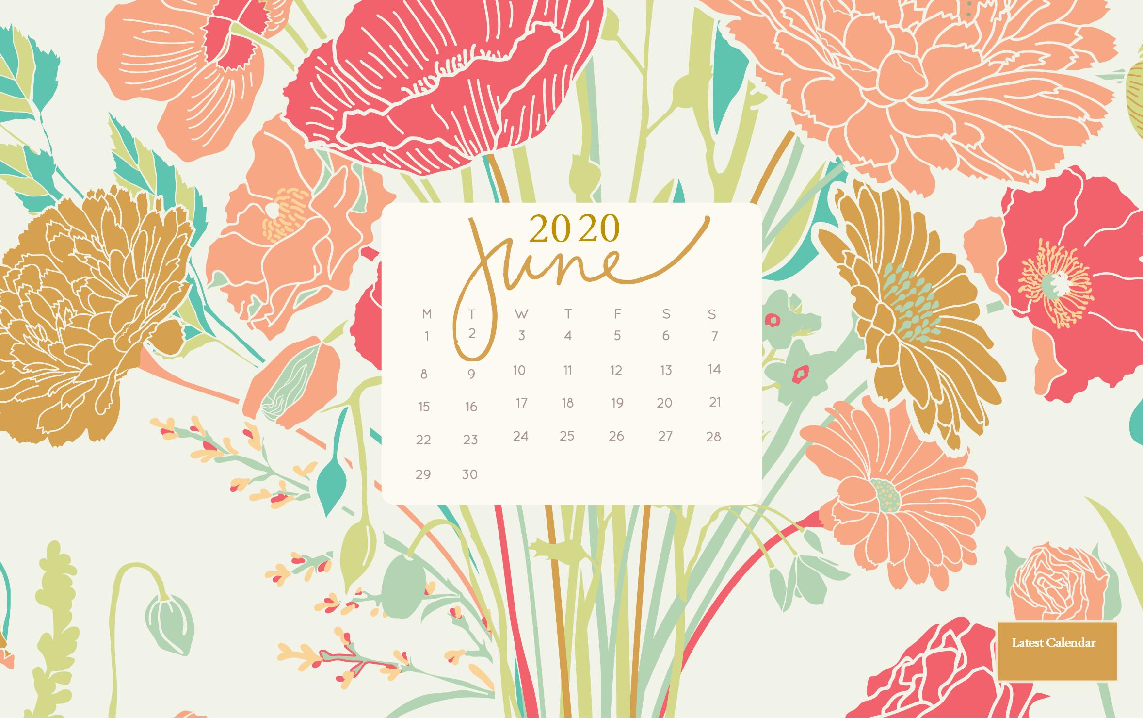 Floral June 2020 Wallpaper