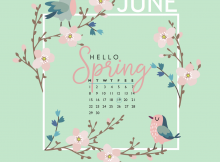 Floral June 2020 iPhone Wallpaper