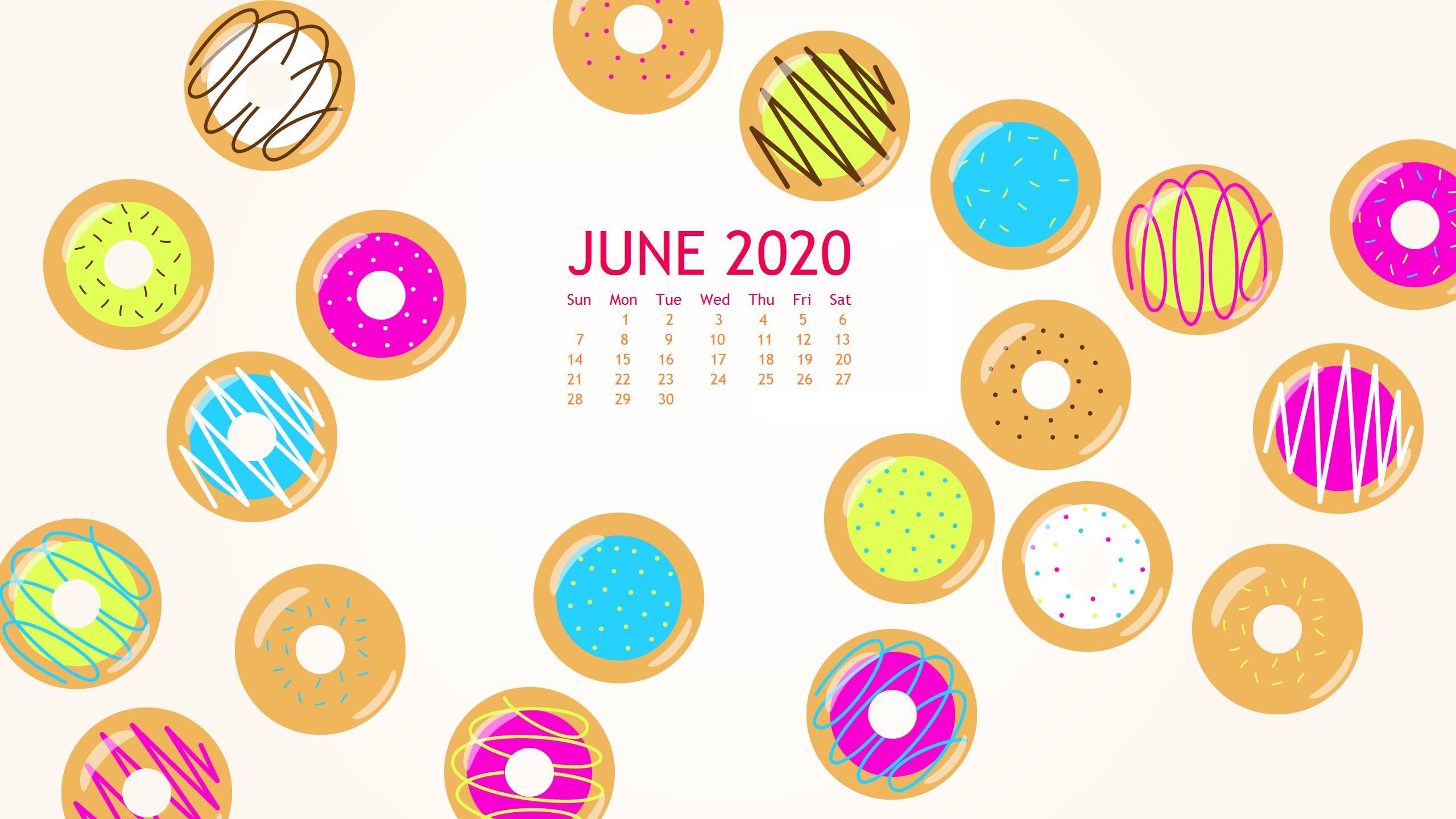 June 2020 HD Wallpaper